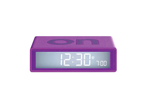 Lexon Lexon - flip+ rcc wekker - purple