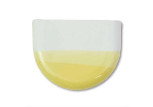 Studio Harm en Elke Studio Harm en Elke - dip wall vase half round - mint 084