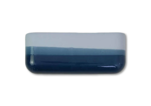 Studio Harm en Elke Studio Harm en Elke - dip wall vase wide - blue 065