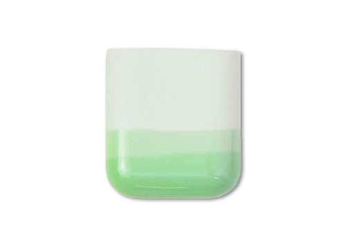 Studio Harm en Elke Studio Harm en Elke - dip wall vase short - mint 071