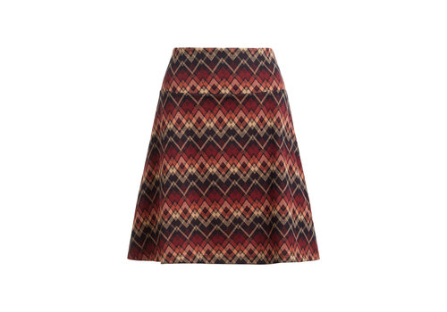King Louie King Louie - border skirt gusto - night blue