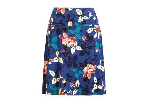 King Louie King Louie - border skirt kyoto - tokyo blue