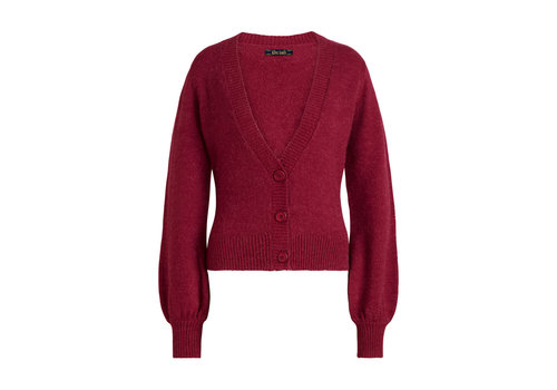 King Louie King Louie - cardi bellsleeve muse - beaujolais red