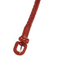 King Louie - braidy belt - henna red