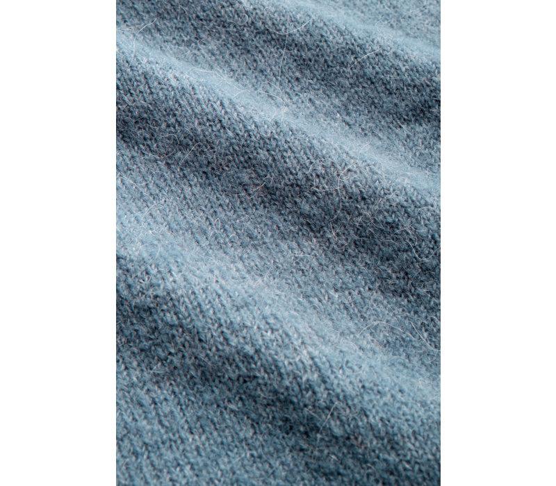 King Louie - cardi bellsleeve muse - niagara blue