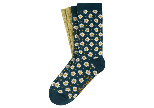 King Louie King Louie - socks 2-pack tate - dragonfly green