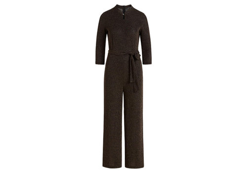 King Louie King Louie - chinese jumpsuit disco lurex - black