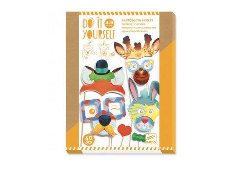 Djeco Djeco - diy - photobooth animal party