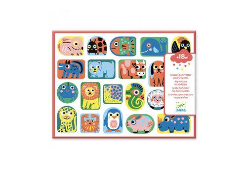 Djeco Djeco - grote stickers - dieren