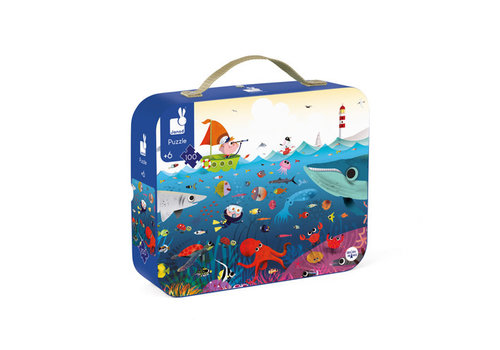 Janod Janod - puzzel - onderwaterwereld