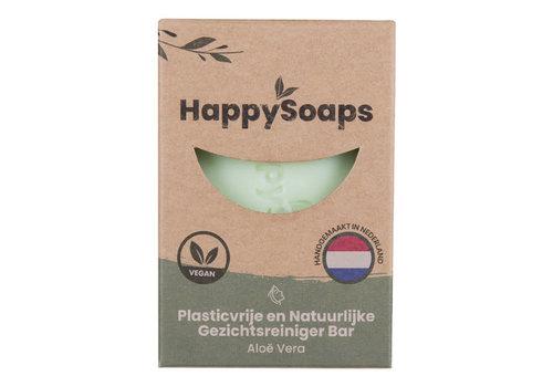 HappySoaps Happysoaps - gezichtsreiniger - aloe vera - 70 gram