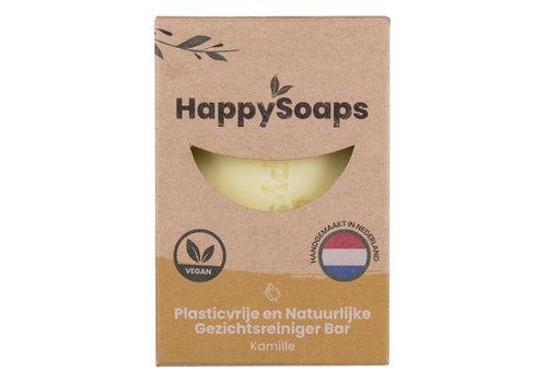 HappySoaps Happysoaps - gezichtsreiniger - kamille - 70 gram