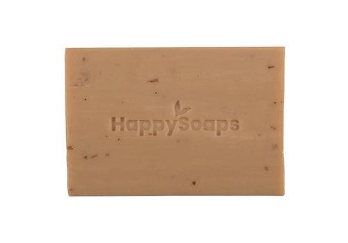 HappySoaps Happysoaps - handzeep - sandalwood en cedarwood - 100 gram