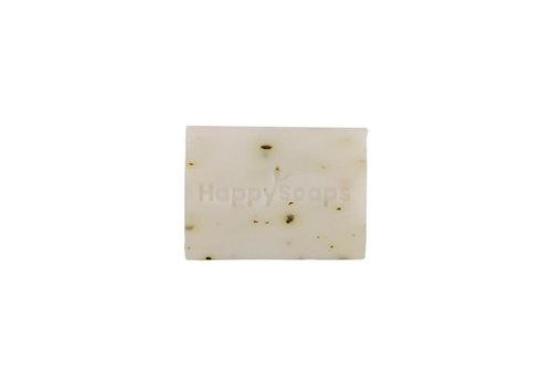 HappySoaps Happysoaps - handzeep - mint en katoen - 30 gram