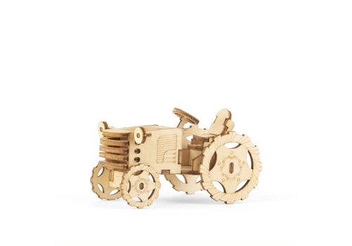 Kikkerland Kikkerland - 3d houten puzzel - tractor