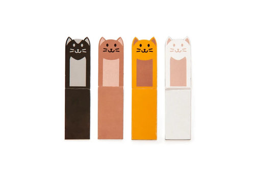 Kikkerland Kikkerland - magnetic bookmark cats