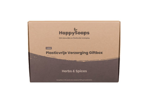 HappySoaps Happysoaps - giftbox large - herbs spices