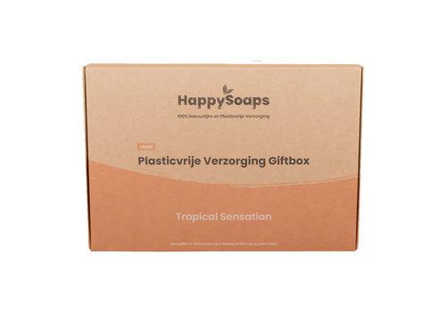 HappySoaps Happysoaps - giftbox large - tropical sensation