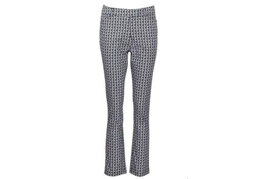 Zilch Zilch - pants woven cotton - kaleidoscope petrol