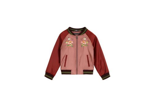 Petit Louie Petit Louie - baseball jacket cherrybird - dusty rose