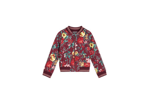 Petit Louie Petit Louie - baseball jacket prado - beet red