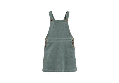 Petit Louie Petit Louie - pinafore dress corduroy - mint green