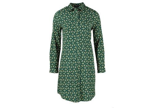 Zilch Zilch - dress polo woven viscose - petals