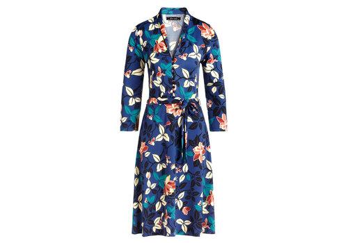 King Louie King Louie - emmy dress kyoto - tokyo blue