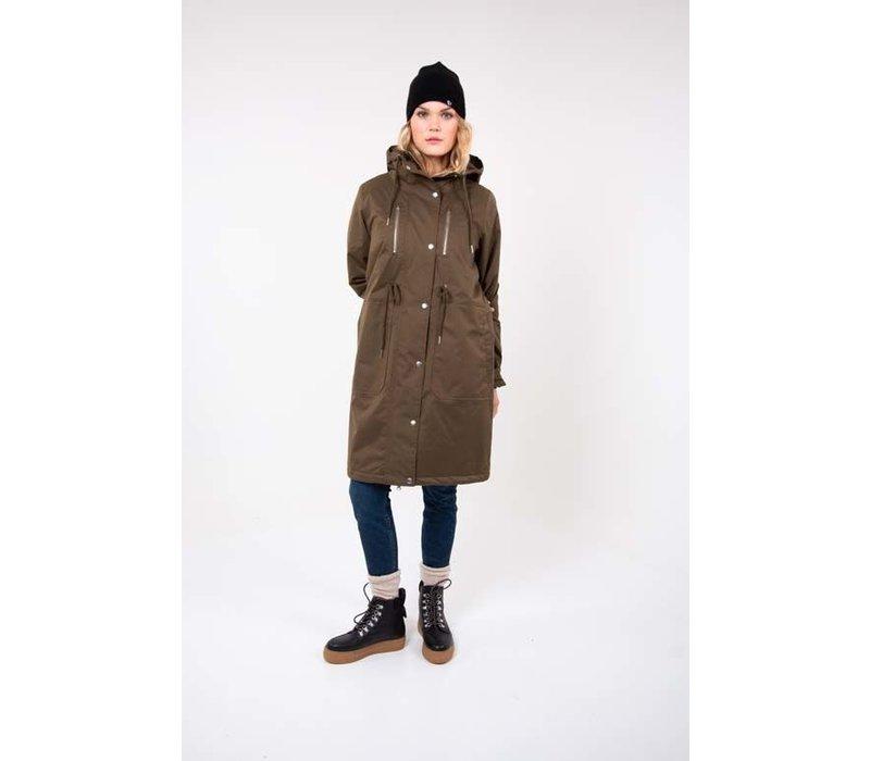 Danefae - lisbeth winter coat - army