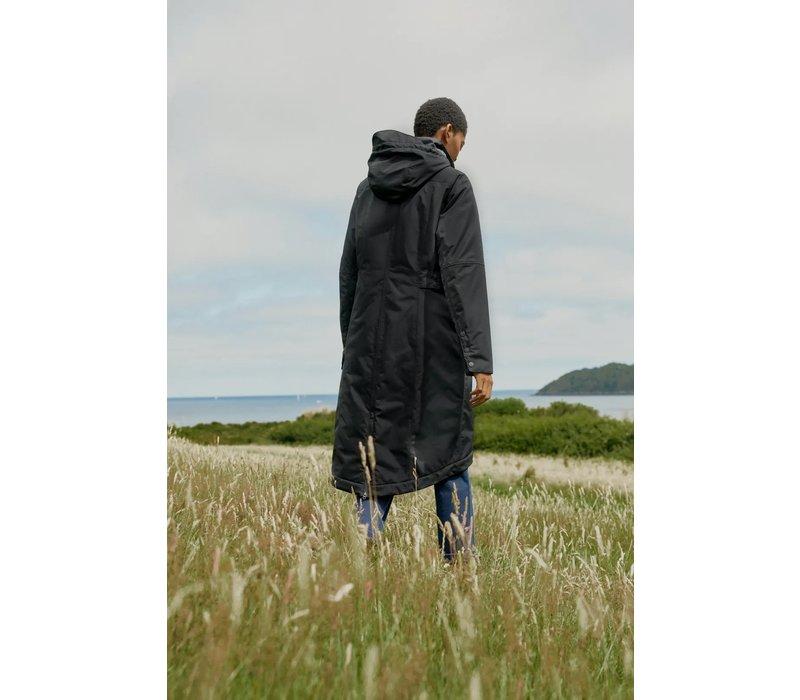 Seasalt - winterjas janelle - black