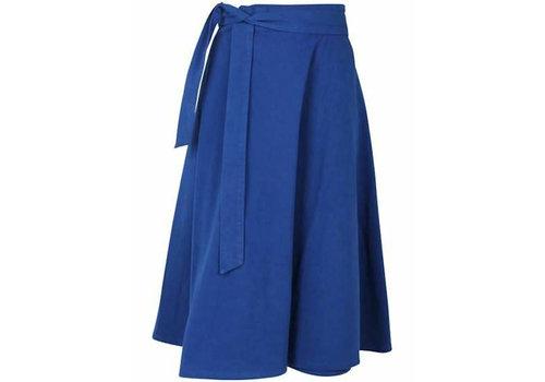 Danefae Danefae - hep skirt - indigo