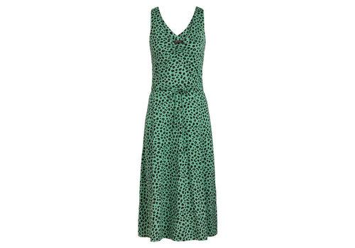 King Louie King Louie - anna dress bobcat - neptune green