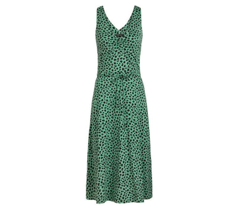 King Louie - anna dress bobcat - neptune green