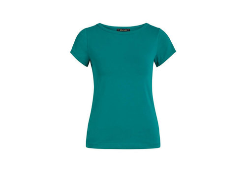 King Louie King Louie - lily top cotton lycra light - eden green