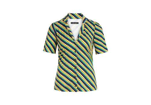 King Louie King Louie - patty blouse daze - eden green
