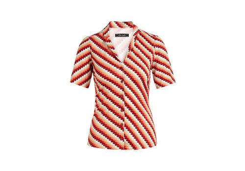 King Louie King Louie - patty blouse daze - popsicle orange