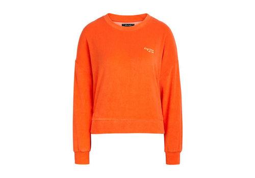 King Louie King Louie - valentina sweater terry towel - popsicle orange