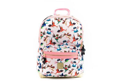 Pick & pack Pick & pack - rugzak medium - birds pink