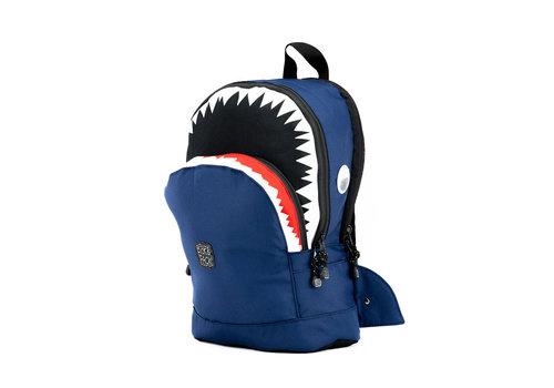Pick & pack Pick & pack - rugzak medium - shark shape navy