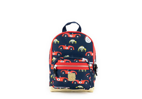 Pick & pack Pick & pack - rugzak small - cars navy