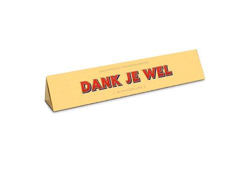 Toblerone Toblerone - chocola 100 gram - dank je wel