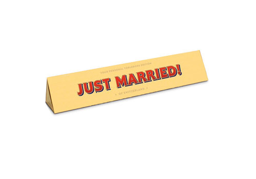 Toblerone Toblerone - chocola 100 gram - just married