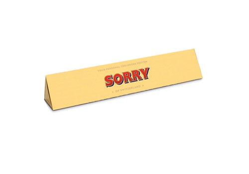 Toblerone Toblerone - chocola 100 gram - sorry