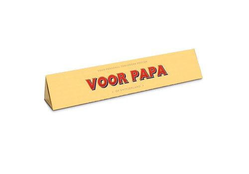 Toblerone Toblerone - chocola 100 gram - voor papa