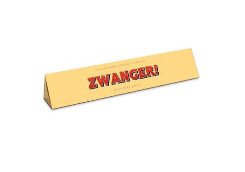 Toblerone Toblerone - chocola 100 gram - zwanger