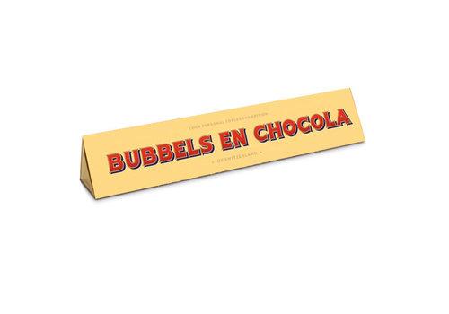Toblerone Toblerone - chocola 100 gram - bubbels en chocola