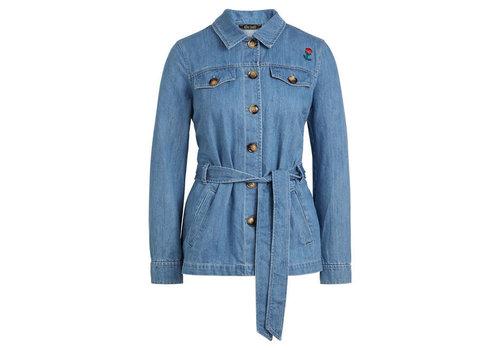 King Louie King Louie - lia jacket canyon denim - bluestone blue