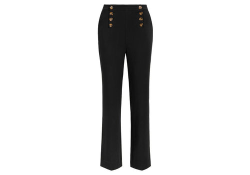 King Louie King Louie - lara sailor pants broadway - black