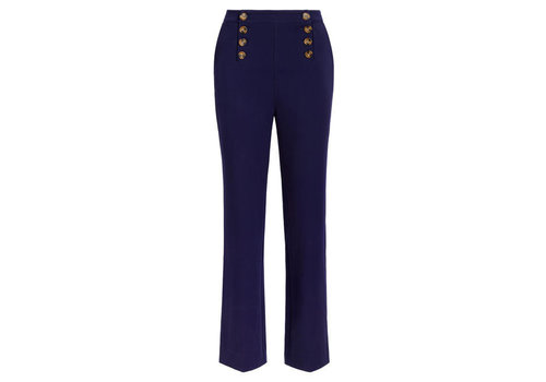 King Louie King Louie - lara sailor pants broadway - ink blue