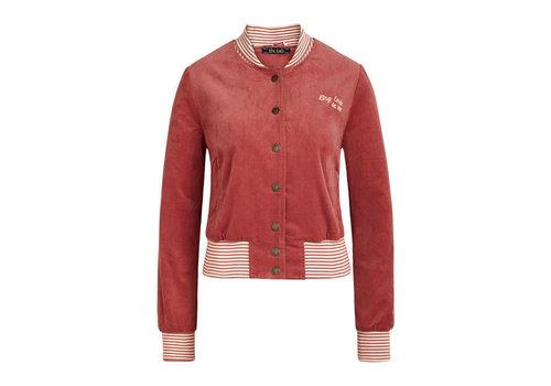 King Louie King Louie - cleo jacket babyrib - velvet pink